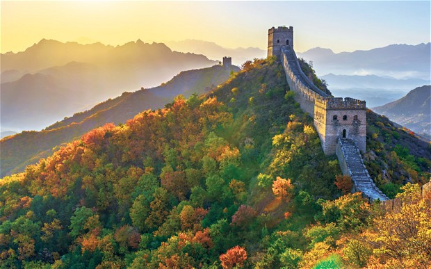 Image result for Great Wall of China during fall