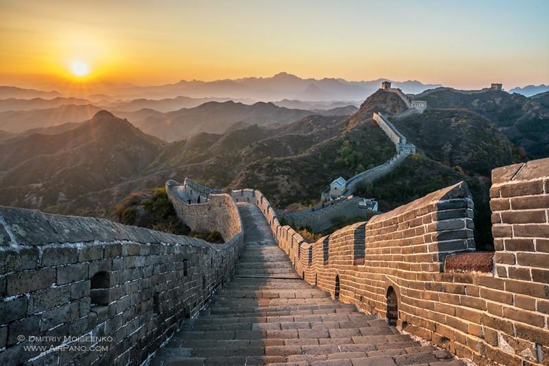 سور الصين العظيم : المعلمة الخرافية