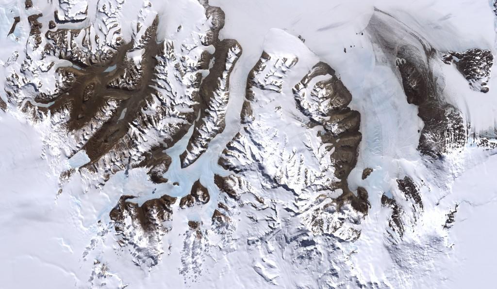 نتيجة بحث الصور عن تضم القارة القطبية الجنوبية أطول سلسلة جبال في العالم