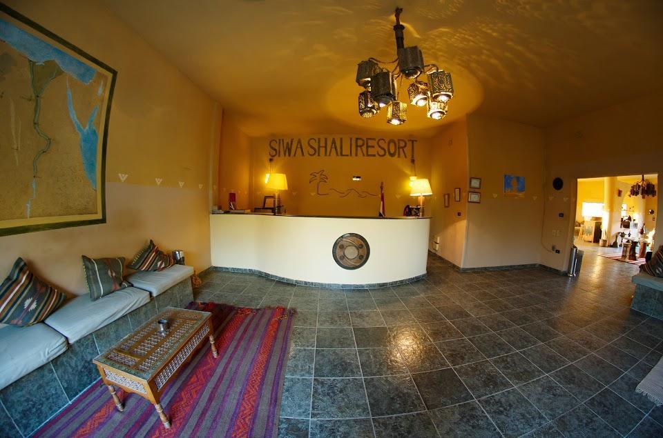 الاستقبال في فندق سيوة شالي ريزورت