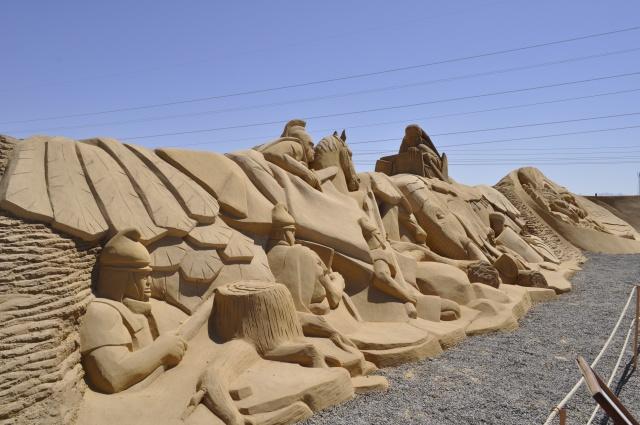 نتيجة بحث الصور عن صاحب فكرة متحف الرمال