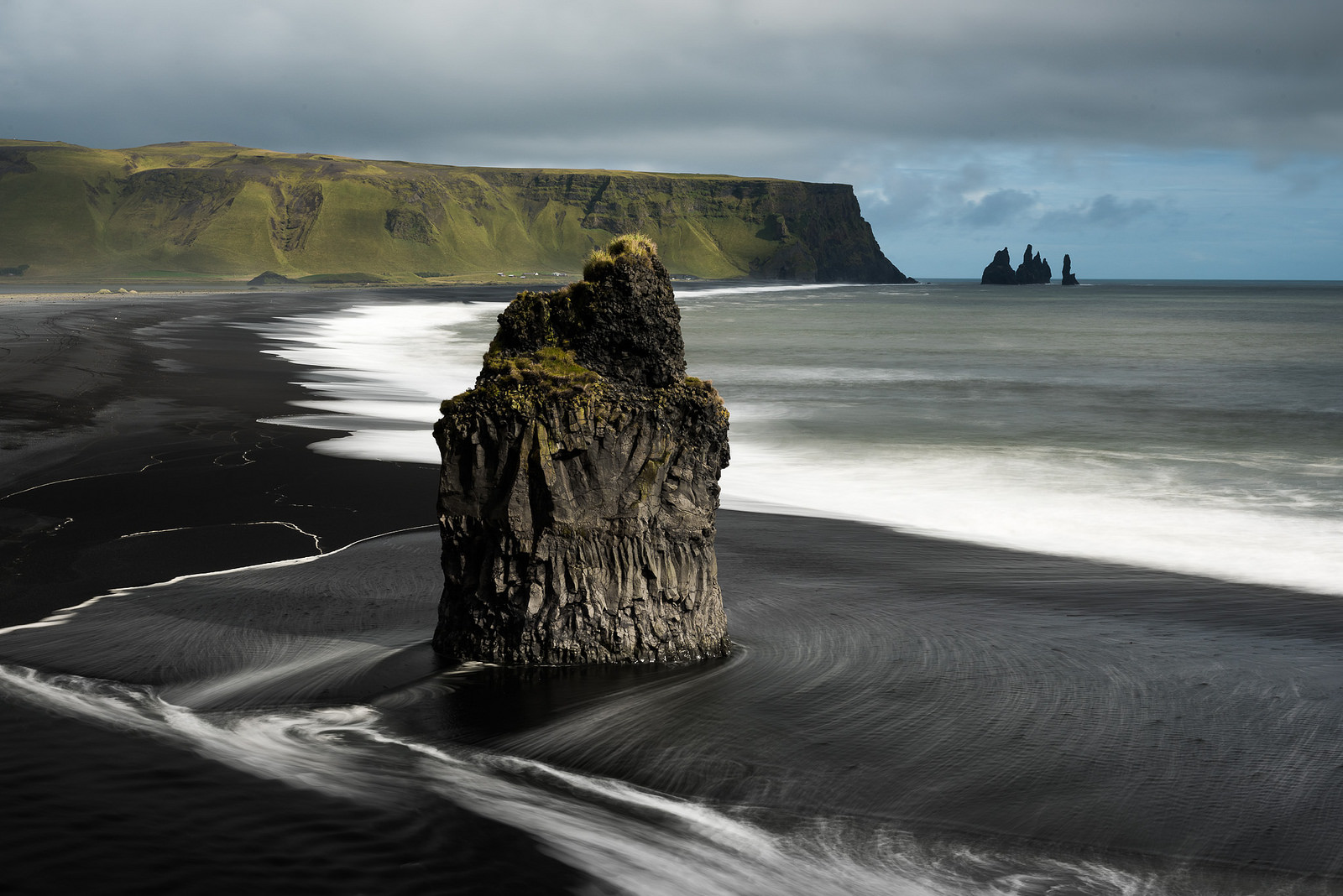 Vik Black Sand Beach Iceland