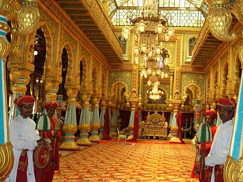 Mysore Palace Golden Throne Yallabook