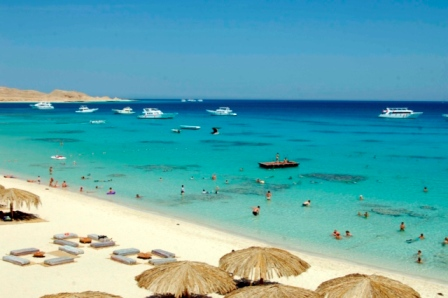 جزر الجفتون هي جزء من منطقة الغردقة في جمهورية مصر